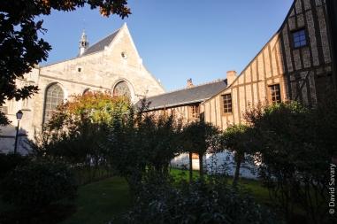 L'église Notre Dame La Riche, en plein centre de Tours
