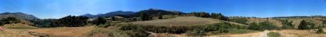 Panorama à (presque) 360 degrés. Sur le GR10, entre Mont-Louis et Planès.