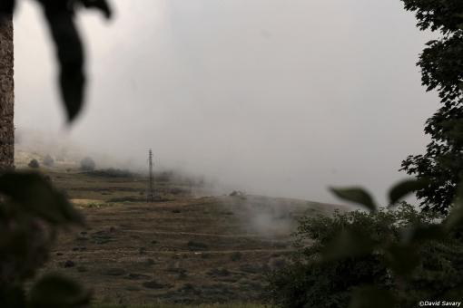 Brouillard ou Nuages ? On ne sait plus très bien ...