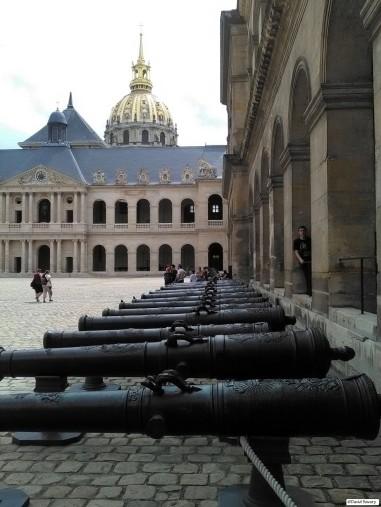 Impressionnante collection de canons français