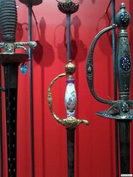 Pommeau d'épée, véritable oeuvre d'art